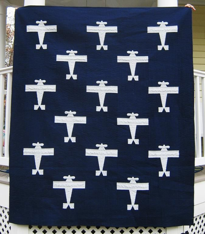 (7) Name: 'Quilting : Airplane Template