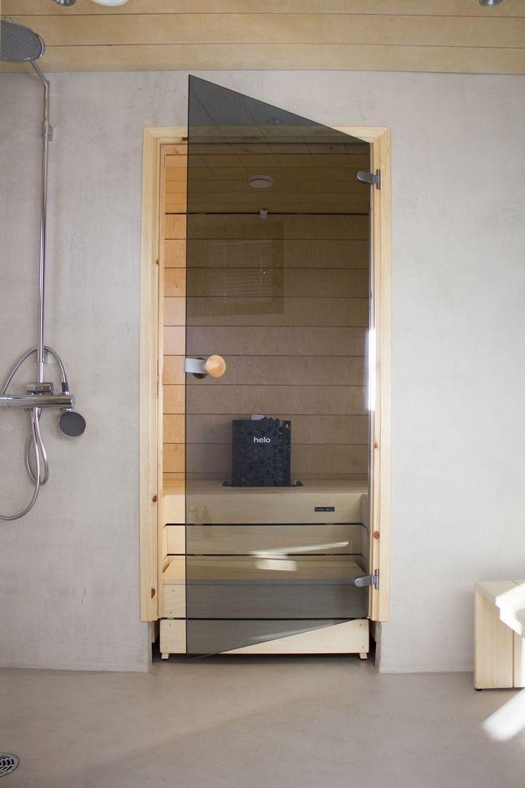 Vanerinen ja betoninen kylpyhuone   Kodin Kuvalehti