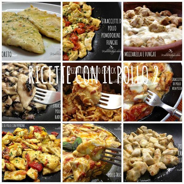 Per leggere la raccolta di ricette con il pollo, non dovete far altro che cliccare sulal foto e... buona lettura a tutti!