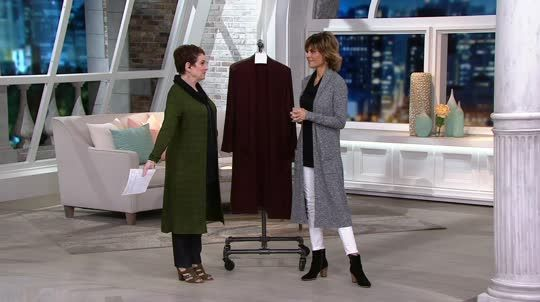 Extend your style opportunities with this longer-length duster cardigan from Lisa Rinna. QVC.com