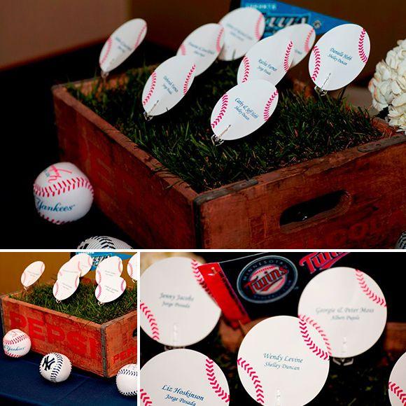 baseball bar mitzvah: Mitzvah Ideas, Baseball Parties, Baseb Parties, Bats Mitzvah, Baseball Bar Mitzvah, Bar Mitvah, Baseball Theme Parties, Places Cards, Baseb Bar Mitzvah