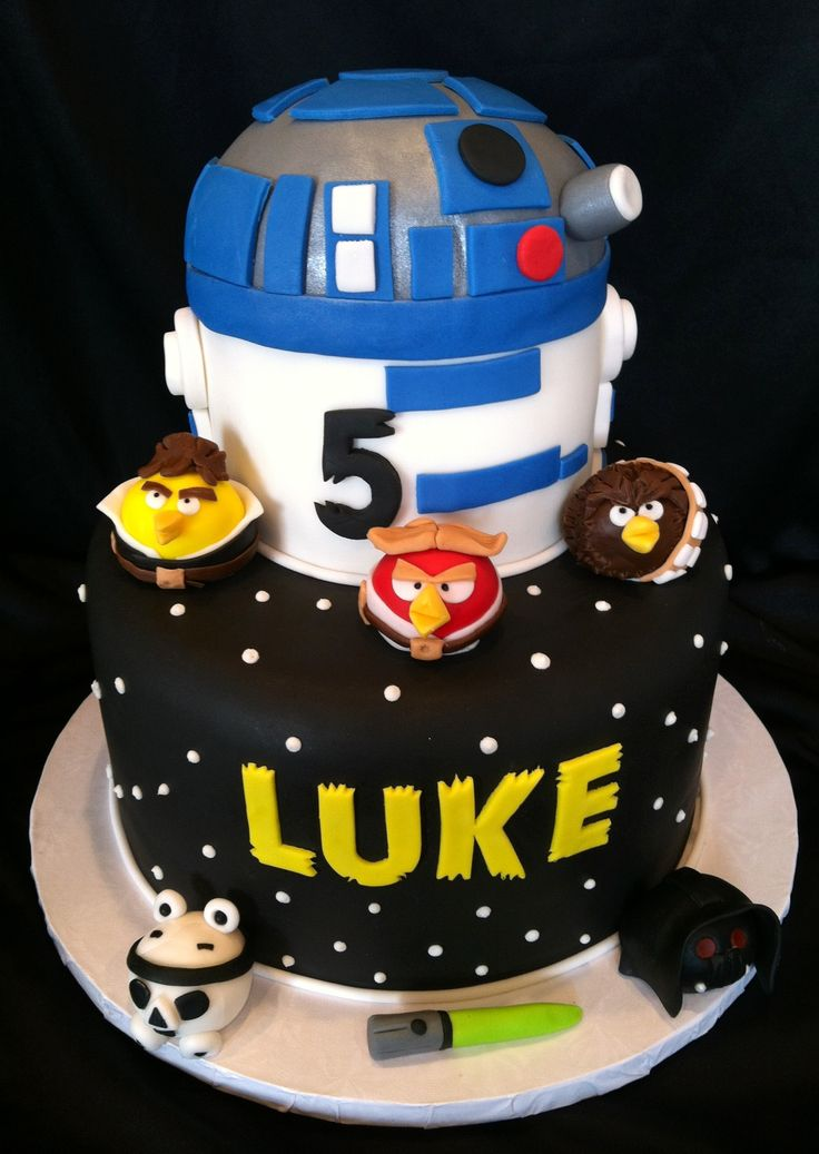 31 best star wars angry birds cake images on pinterest - Angry birds star wars 7 ...