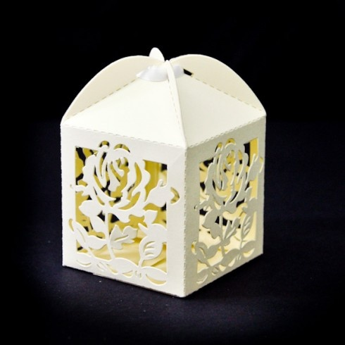 Lovely bomboniere boxes