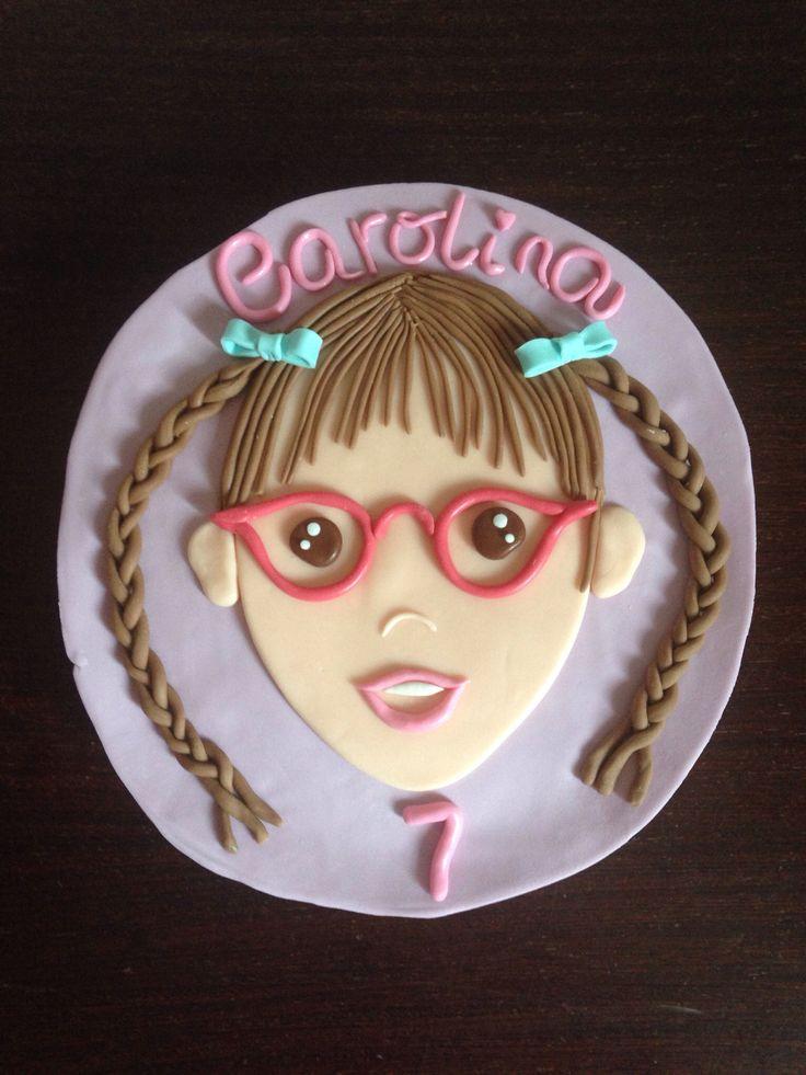 Portrait Cake! Carolina!
