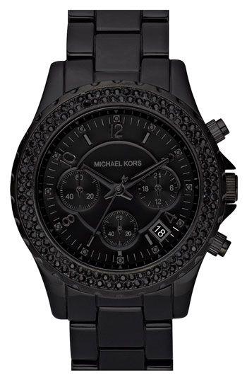 black on black. WANT