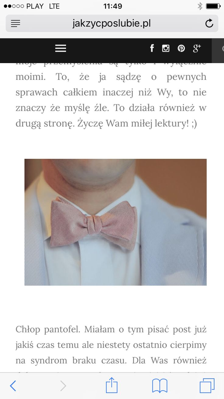 Zapraszam na wpis o mężczyźnie pantoflu http://www.jakzycposlubie.pl/2017/03/mezczyzna-zniewolony.html?m=1 :)