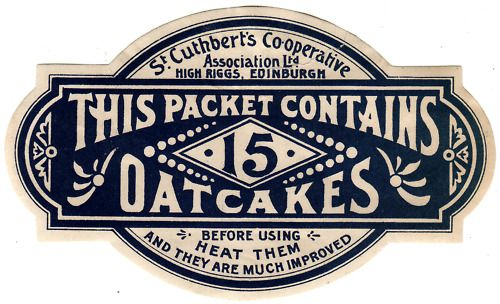 15 Oatcakes: 15 Oatcak, Cuthbert Oatcak, Vintage Design, Oatcak Labels, Vintage Logos, Design Layout, Logodesign Graphicdesign, Labels Design, Graphicdesign Inspiration