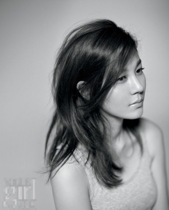 김하늘 for Elle Girl. awesome photography..