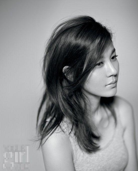 김하늘 for Elle Girl. awesome photography..