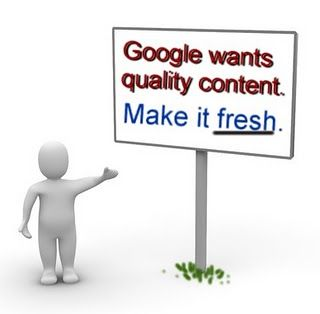 Google wants fresh & quality content. Write a quality content with us...