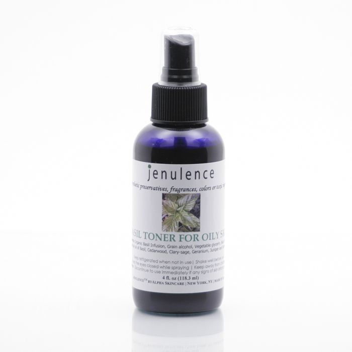 Jenulence All-natural Witch Hazel Toner for Oily Skin.