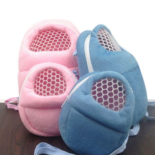 1 Pc Convenient Portable Hedgehog Hamster Sugar Glider-Rat Carrier Breathable Travel Shoulder Bags Backpack Pets Accessories
