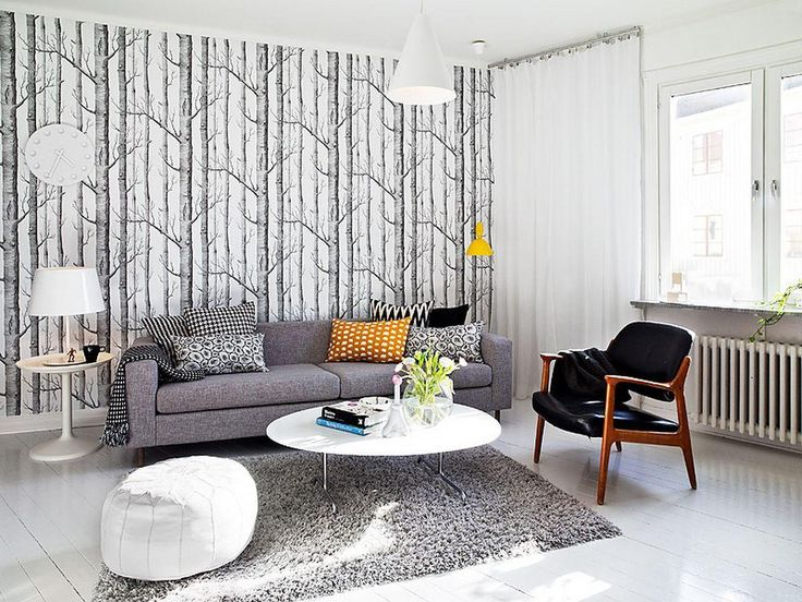amazing seat lounge modern simple fabric couch small living room ce | modern Scandinavian living room design features a gorgeous ...