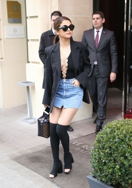 Selena Gomez in Paris - March 8