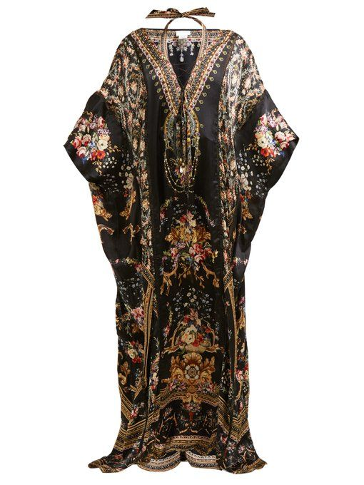 5ba41a58f5dc8 Camilla | Womenswear | Shop Online at MATCHESFASHION.COM UK Flora Print, Silk  Kaftan