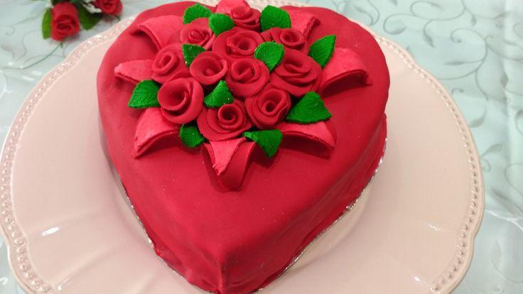 Sevgililer günü pastası-Valentines Day Cake