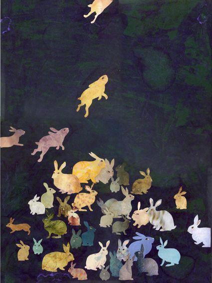umla, campsis: Karine Daisay - lapins
