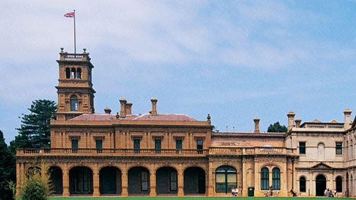 Werribee Mansion, Melbourne, Victoria, Australia