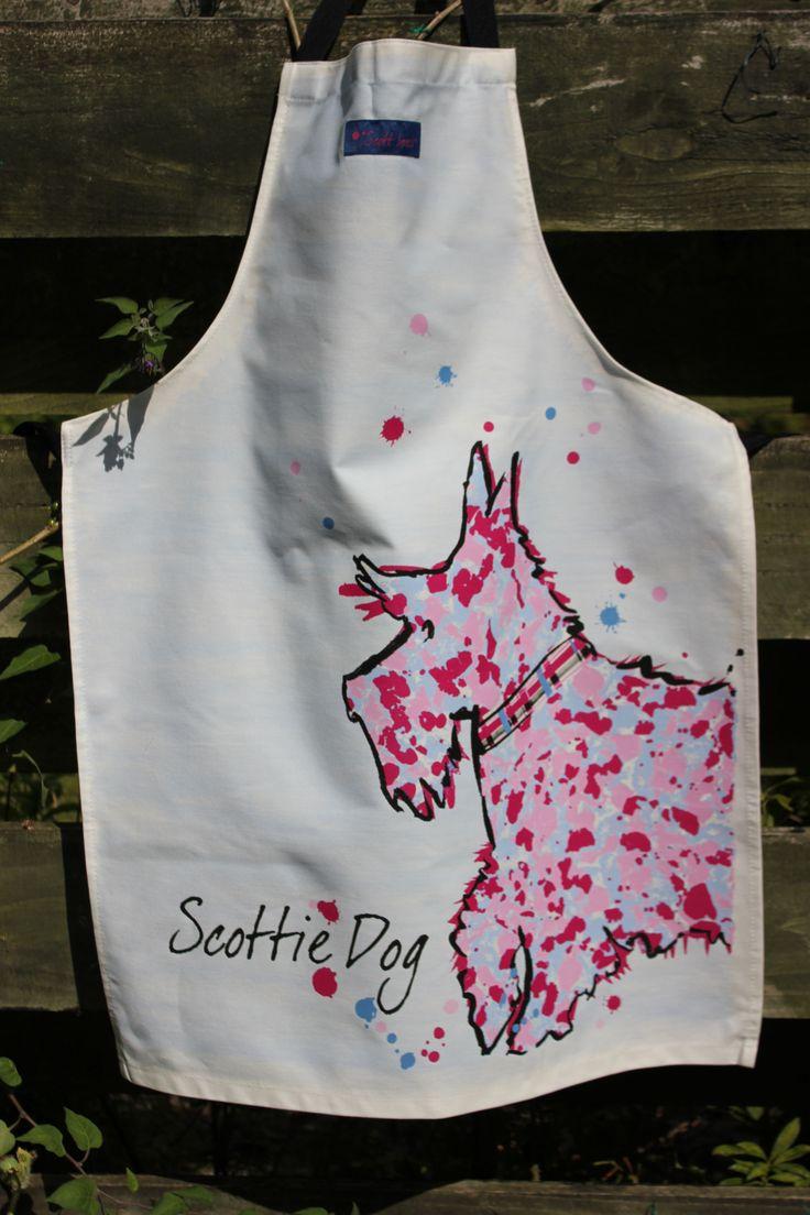 White tea apron -  23 65 Scottie Dog Apron Http Www Onemoregift Co Uk