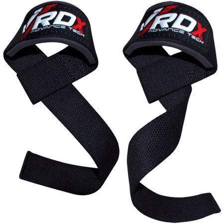 Rdx Gym Weight Lifting Wrist Strap Support, Black