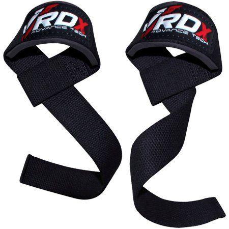Rdx Gym Weight Lifting Wrist Strap Support, Black