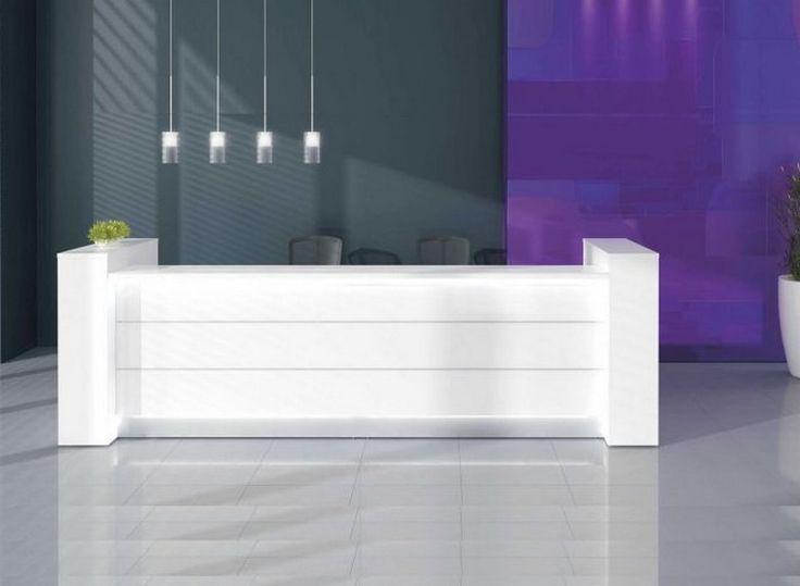 49 best reception desk furniture images on pinterest for Cool office reception