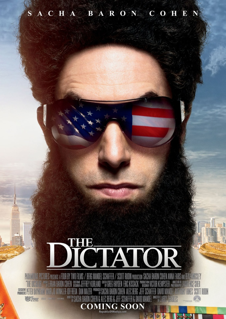 the Dictator - weirdest movie I have ever watched