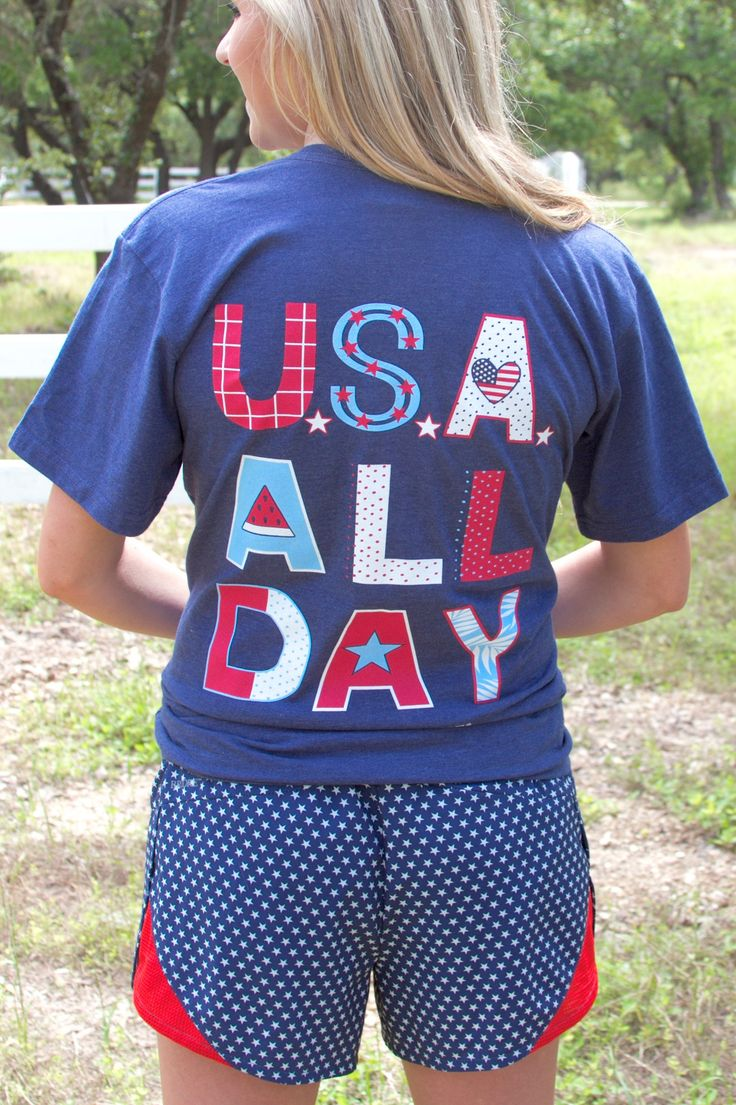 Design t shirt online usa -  Usa All Day On The Softest Comfiest Shirt