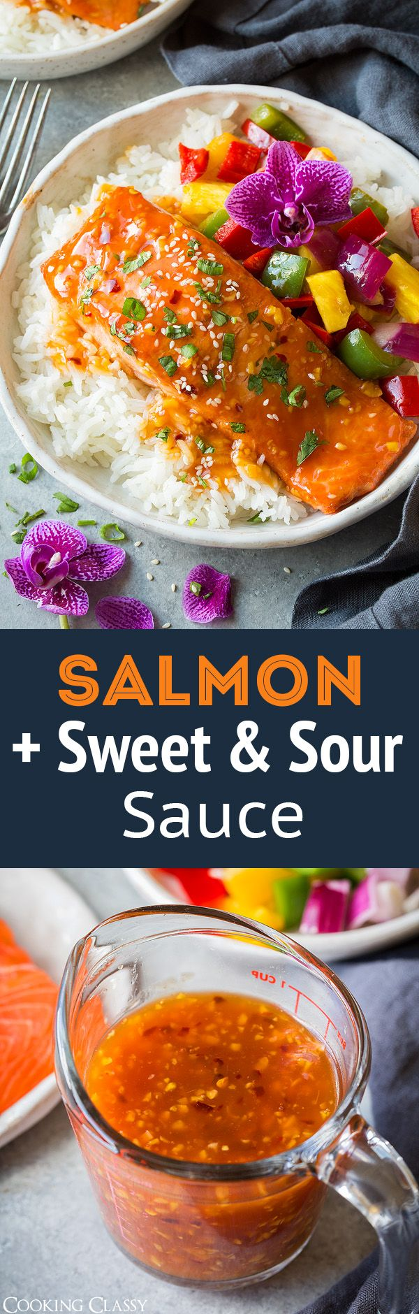 You can't go wrong here with this simple island style Pan Seared Salmon with Sweet and Sour Sauce! It's quick and easy and perfectly delicious!