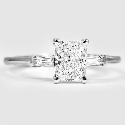 LOVE. Tapered Baguette Diamond Ring | Brilliant Earth