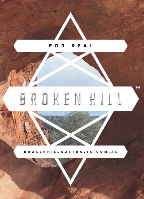 Broken Hill NSW, Australia  New brand strategy for one of Australia's first mining town's, identity, film studio, collateral, #cat burgess, #vince frost, #frost design   http://www.brokenhillaustralia.com.au/