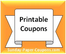 Get all of your free food coupons and online grocery coupons from Manufacturers and Grocery Stores here at Sunday Paper Coupons!