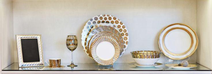 Juego de vajilla, Vista Alegre, accesorios, en Home Gallery.