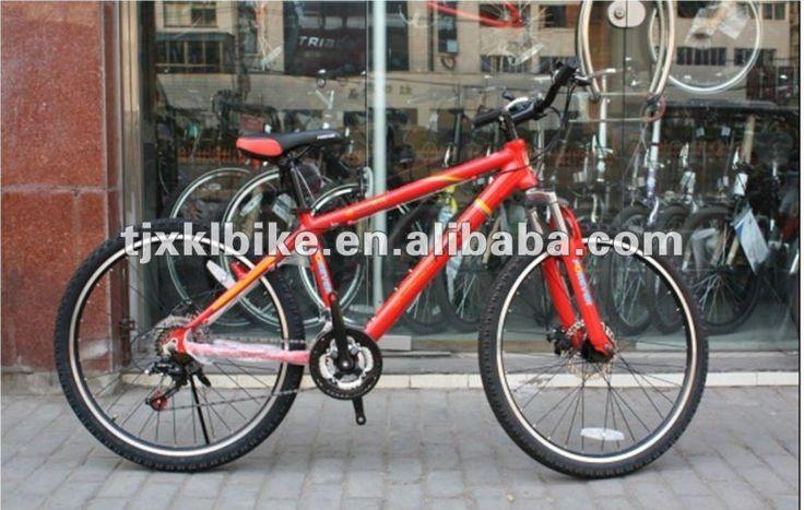 26 best mountain bike with Disc Brake1.Alloy frame2.Aluminum rim3.F R Disc Brake4.ShimanoF/R DERAILLEUR Please follow us @ https://www.pinterest.com/wocycling/