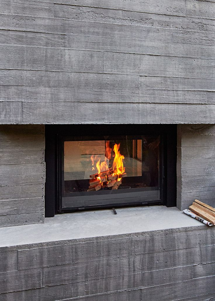 463 best double sides fireplace images on Pinterest | Fireplaces ...