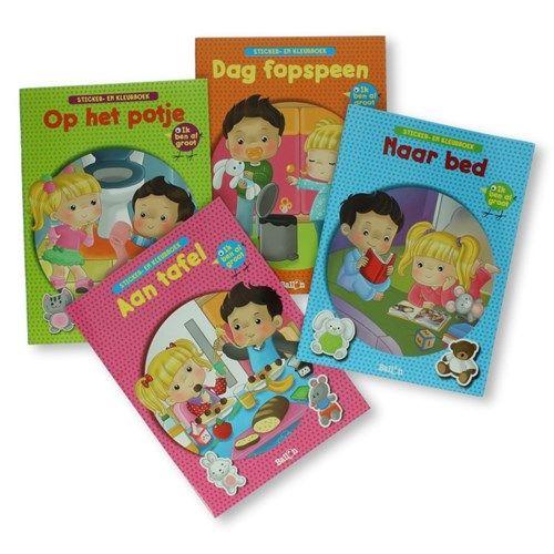 Kleurplaten En Zo Manege.Sticker En Kleurboek Ik Ben Al Groot Leer En Speelboeken