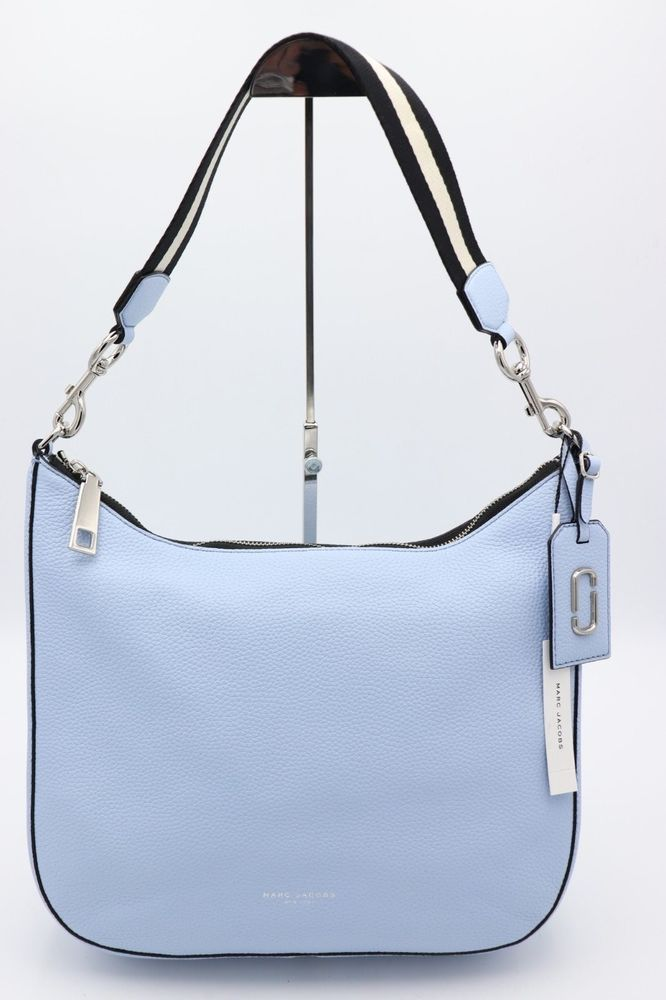 c2b1258eee6d NWT Marc Jacobs Gotham City Blue Leather Hobo Shoulder Bag New  495   MarcJacobs  ShoulderBag