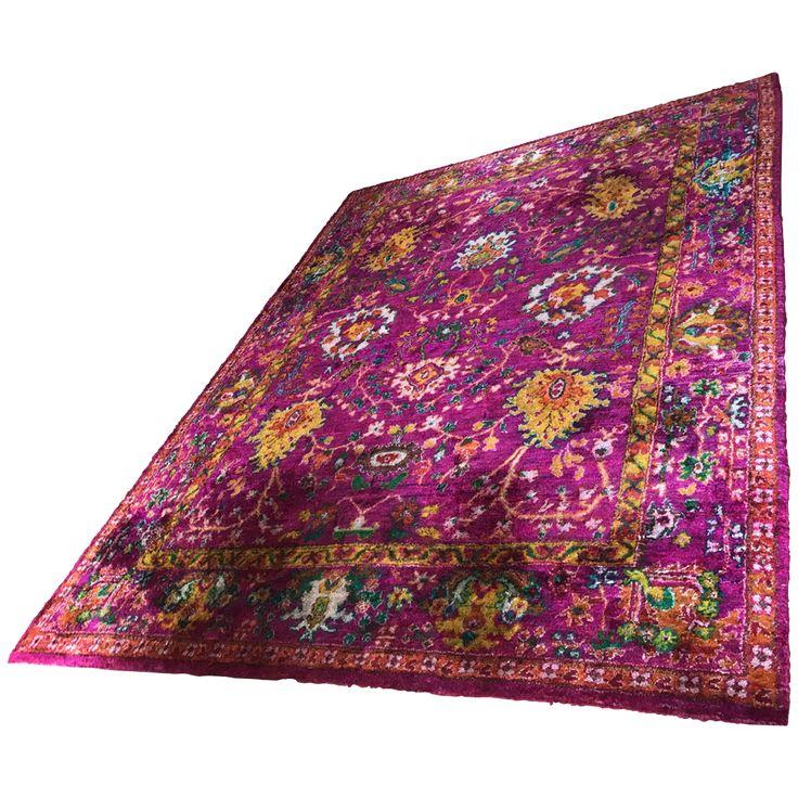 Viyet - Designer Furniture - Rugs - Eclectic Indian Recycled Sari Silk Rug