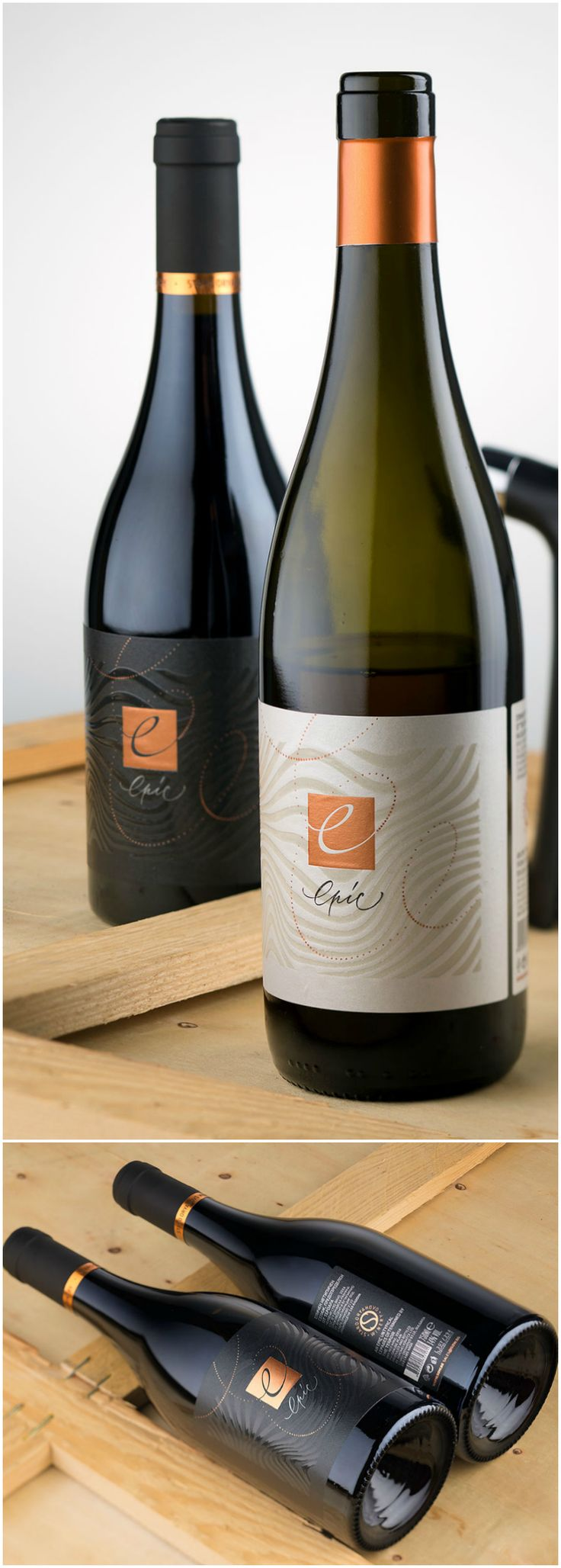 Design Agency:the Labelmaker Brand / Project Name:modern wine label 42 Shares 12 Epic  Location: Bulgaria Category: #wine #drink