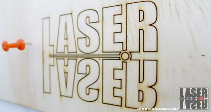 grabado en madera terciada  laserlaser.cl