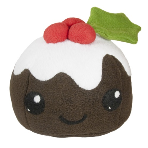Christmas Figgy Pudding Plush