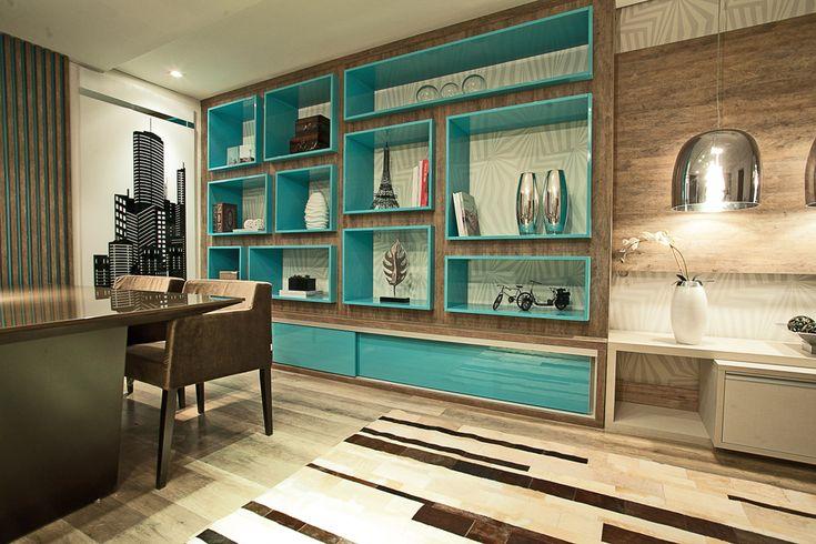 .: Ciano Decor, House Color, Sweet Decor, Interiors Design, Decor Estant, Cor 12, Cor Paraná, Sala Casa, Decoração Azul Turquesa