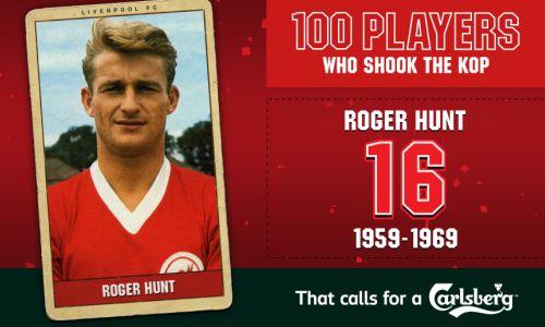 100PWSTK: 16. Roger Hunt - Liverpool FC