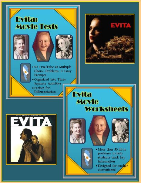 evita essay When i arrived in argentina to begin filming evita, on the drive from buenos aires   in his excellent essay, the return of eva perón, vs naipaul quotes a poem.