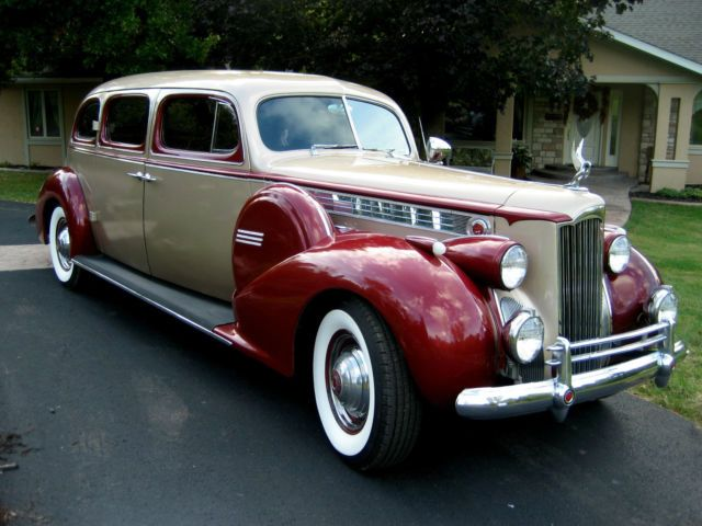 Antique Auto For Sale In Arkansas: 1940 Packard Limousine, Used Classic Packard For Sale
