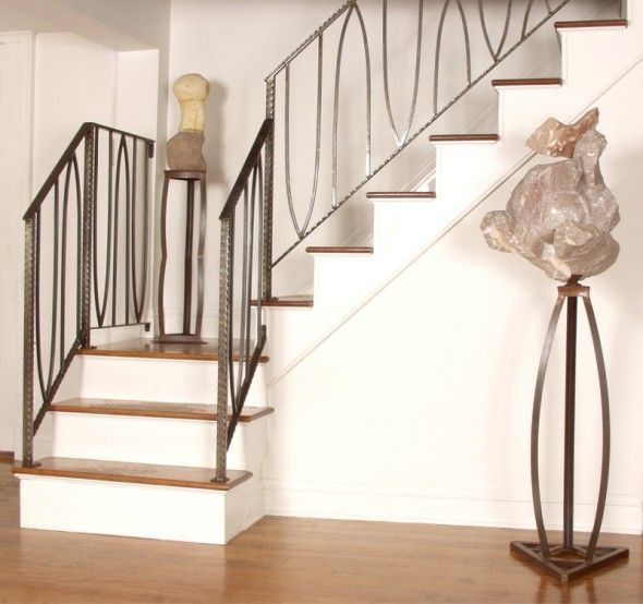 Railing, Spindles And Newel Posts For