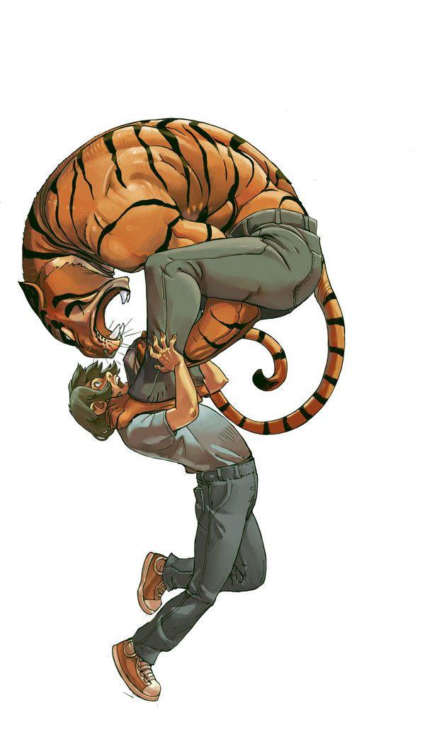 Thrilling Illustrations by Joel Jurion