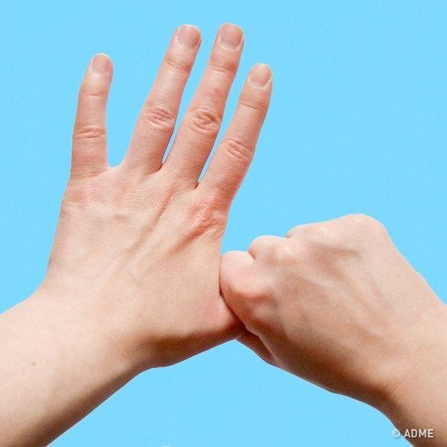 Что будет, если держаться засредний палец 5минут