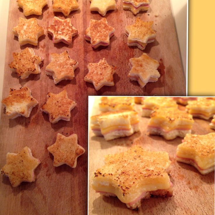 Easy appetizer I made for Christmas: mini croques monsieur!