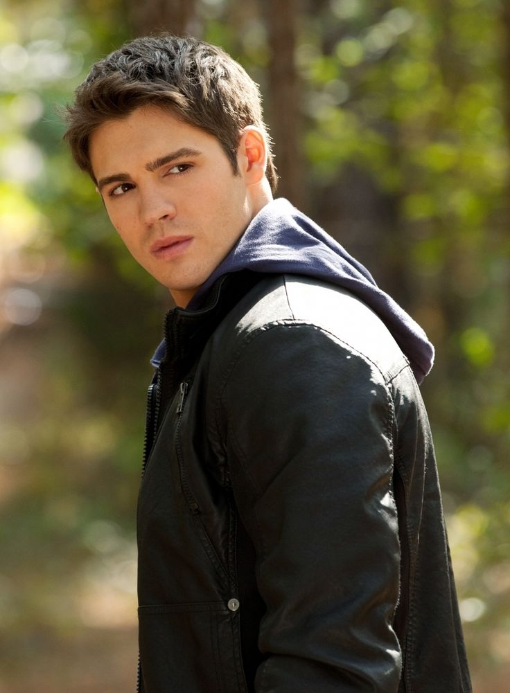 Steven R. McQueen. The Vampire Diaries has the hottest male cast of any television show.
